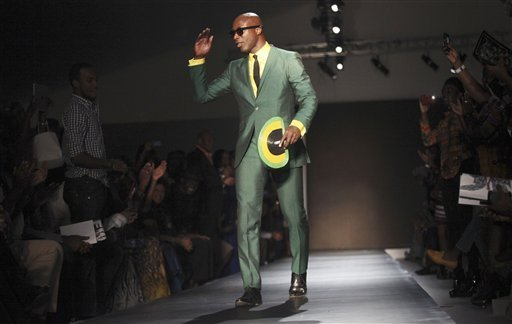 Lagos Nigeria Fashion Week 2012